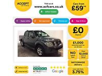 NISSAN NAVARA 2.5 DCI 4WD TEKNA CrewCab Pick-up OUTLAW VISA FROM £59 PER WEEK!