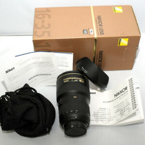 Nikon 16-35mm F4 VR Ultra wide lens great price!