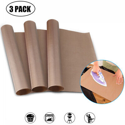 Teflon Sheet For Heat Press Transfer Sheet Non Stick 16x20 Non-stick Paper 3pcs