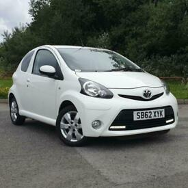 2012 Toyota AYGO 1.0 VVT-i Fire 3dr HATCHBACK Petrol Manual