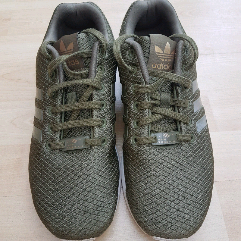save off 760c3 e1943 🌟ADIDAS ORIGINALS KHAKI ZX FLUX TRAINERS🌟 | in Cannock, Staffordshire |  Gumtree