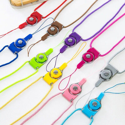 Detachable Cell Phone Holder - Detachable Cell Phone Mobile Neck Lanyard Strap ID Card Key Ring Holder NEW