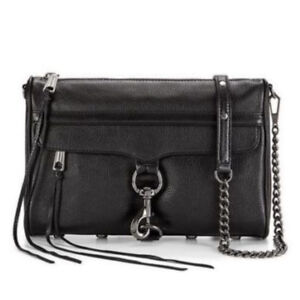****BNWT Rebecca Minkoff Regular M.A.C. Crossbody Black