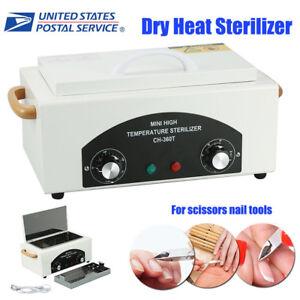 110V Dental Lab Heat Cabinet Autoclave Hot Dry High Temperature Sterilizer Tool