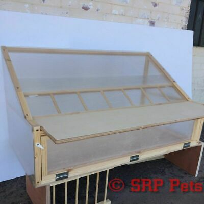 SRP PETS™ Sputnik For Racing Pigeon Loft - Quality Timber and Polycarbonate 35