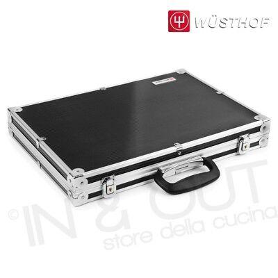 Valigia porta coltelli da cucina rigida valigetta con barra magnetica WUSTHOF
