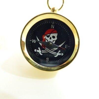 Piratenkompass als Schlüsselanhänger Kompaß Pirat