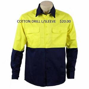 HI-VIS FLURO WORKWEAR - COTTON DRILL & POLY Rochedale South Brisbane South East Preview