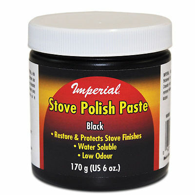 Imperial Manufacturing KK0059 Stove Polish Paste Clean Restore And Protect - Stove Polish