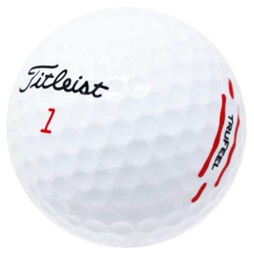 120 Titleist TruFeel Practice Mint Used Golf Balls AAAAA
