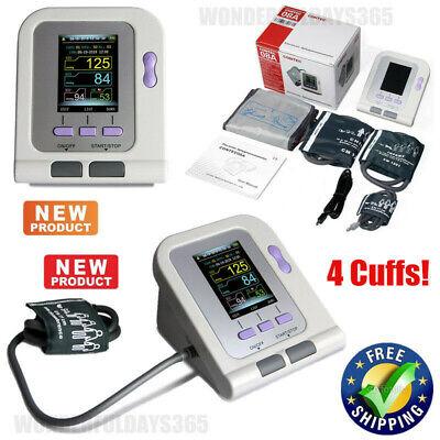 Blood Pressure Monitor Nibp 4 Cuffs Adultchildinfantneonatal Pc Software