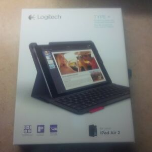 logitech type + for ipad air 2 brand new unopened