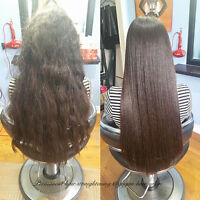 Japanese hair straightening specialist Olaplex and Rebonding