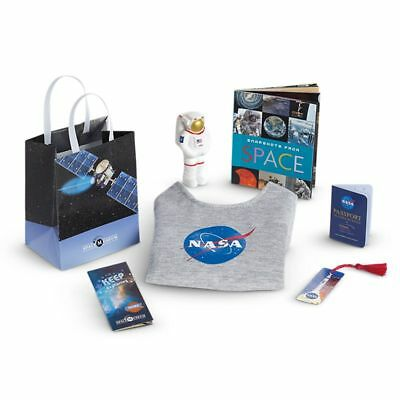 Authentic American Girl Goty 2018 Luciana Vega Nasa Visitor Center Accessories