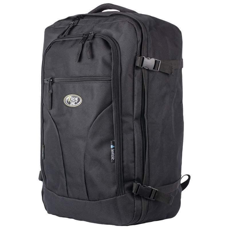 """Flight Approved Black 22"""" Carry-On BACKPACK Bag Travel Case"""