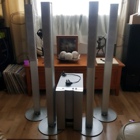 Sony subwoofer and 4 satellite speakers