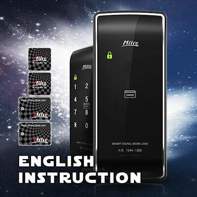 Milre Keyless Lock MI-450S Digital Doorlock Entry Passcode + 4 RFID Cards 2Way