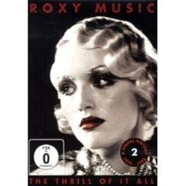 "ROXY MUSIC ""THE THRILL OF IT ALL 1979-1982"" DVD NEU"