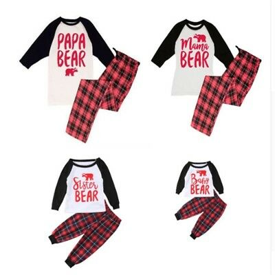 Matching Family Christmas PJ Sets](Family Pajamas Sets)
