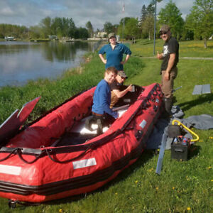 INFLATABLE BOATS, TRAILERS, OUTBOARDS AND MORE