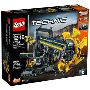 LEGO TECHNIC #42055, Bucket Wheel Excavator