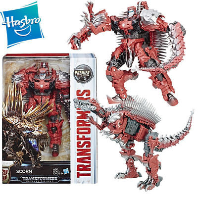 HASBRO TRANSFORMERS 5 THE LAST KNIGHT PREMIER SCORN VOYAGER ACTION FIGURE TOY