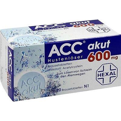 ACC akut 600 Hustenlöser Brausetabletten   20 st   PZN10808