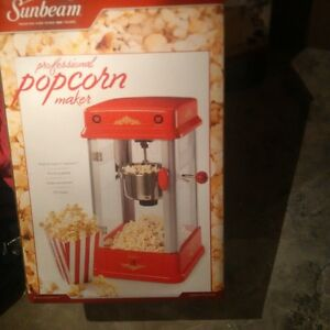 sunbeam theater style popcorn maker