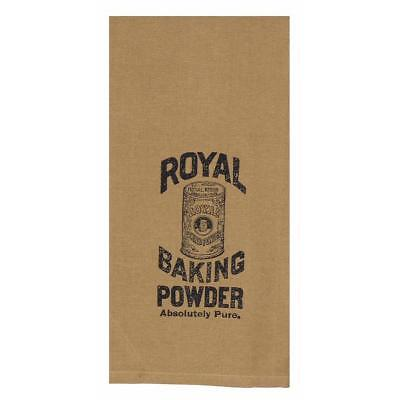 Set of 2 Raghu Home Collections Royal Baking Powder Cotton Tea Towels