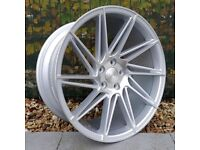 "19"" Staggered Veemann V-FS26 alloy Wheels and Tyres for an E90 BMW 3 Series"