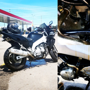 2003 Yamaha YZF 600 parts bike