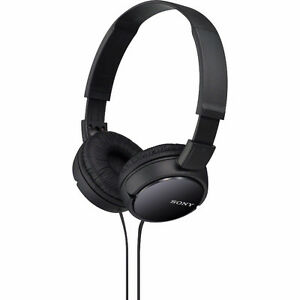 Sony Stereo Headphones (BLACK)