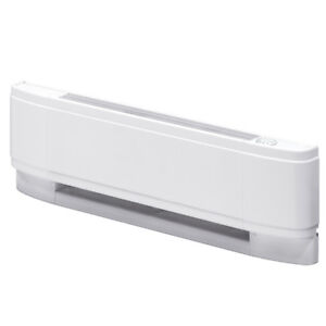 "New Baseboard Heater - 500W, 240V, only 20"" wide (w/thermostat)"