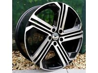 "19"" R400 Style alloy wheels for VW Audi Seat 5x112 ETC"