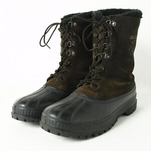 Sorel Crusader Winter Boots - Men's Size 6, Real Leather