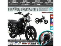Lexmoto ZSB 125 125cc Low Seat Naked Motorbike Finance UK/IRE Delivery