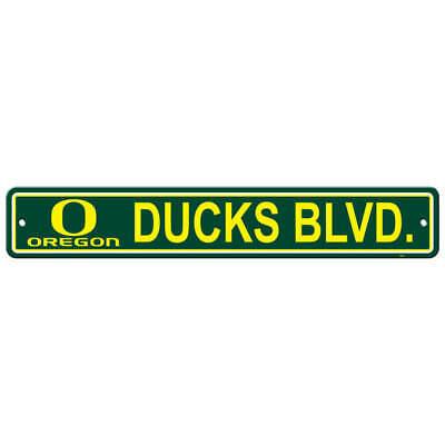 New NCAA Oregon Ducks STREET SIGN - Home Office Bar Decor