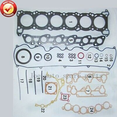 RB20E Engine Full gasket set kit for Nissan laurel c32 20L 10101 83L25 1010183L