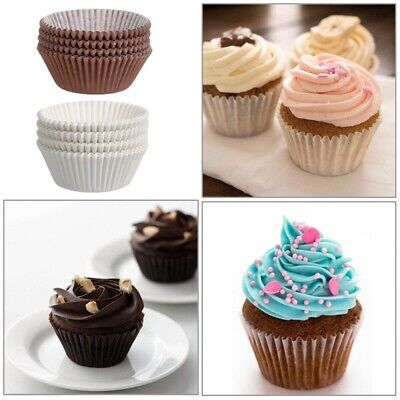 500/1000Pcs Paper Cake Cup Cupcake Muffin Chocalate Cases Liners Baking - Cupcake Paper