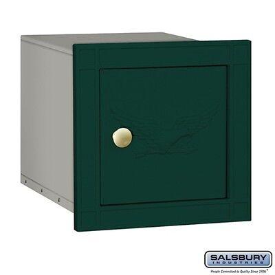 Mailbox Green Eagle Door - Cast Aluminum Column Mailbox Non-Locking Eagle Door Green MAILBOX 4140E-GRN NEW