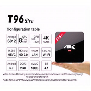3GB RAM 16/32/GB ROM  OCTA CORE! S912 Android TV boxes