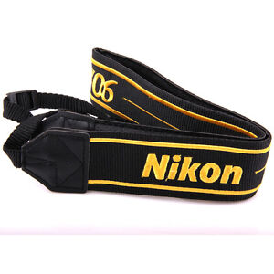 Camera Shoulder Neck Strap for Nikon D7000 D5100 D5000 D3200 D800 D700 D600 D300