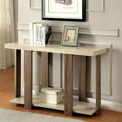 Bowery Hill Console Table in Light Oak for sale  Sterling