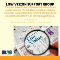 Low Vision Support Group 55+