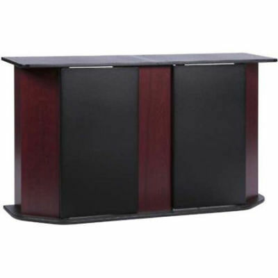 Aquarium Stand Storage Cabinet Fish Tank Holder 55 Gallon Door Home Cherry Black
