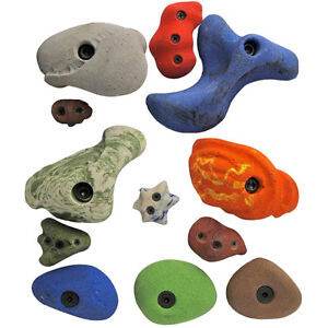 Looking for a few hand grips for a toddler climbing wall