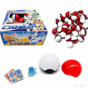 Pokemon GO Throw N Catch Poke Ball 10 Pack great for loot bags