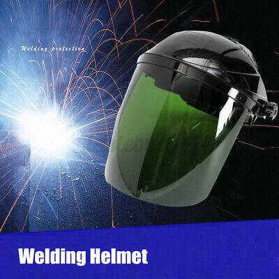 Gas Welding Helmet Arc Welder Lens Security Shield Visor Uv Radiation Face