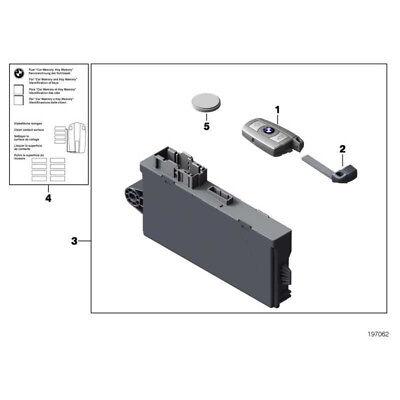 Cewki zapłonowe BMW F30 F10 F01 F15 GENUINE Ignition Key Remote Battery 3,2 V CR2450 61319217643 Układ zapłonowy i żarowy