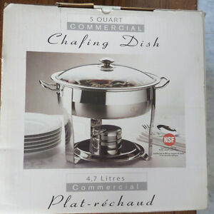 5 Quart Commercial Chafing Dish - New in Box